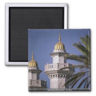 Minarets of Monastir, Tunisia Magnet