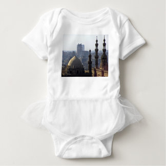 Minarets view of Sultan Ali mosque Cairo Baby Bodysuit