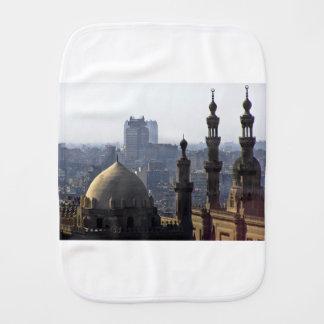 Minarets view of Sultan Ali mosque Cairo Burp Cloth