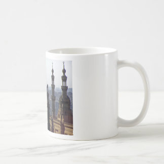 Minarets view of Sultan Ali mosque Cairo Coffee Mug