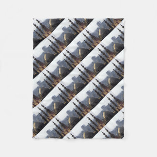 Minarets view of Sultan Ali mosque Cairo Fleece Blanket