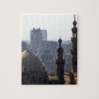 Minarets view of Sultan Ali mosque Cairo Jigsaw Puzzle