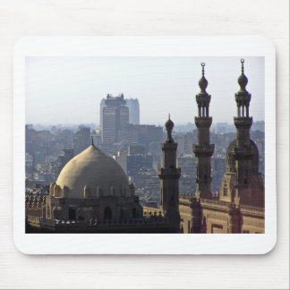 Minarets view of Sultan Ali mosque Cairo Mouse Pad