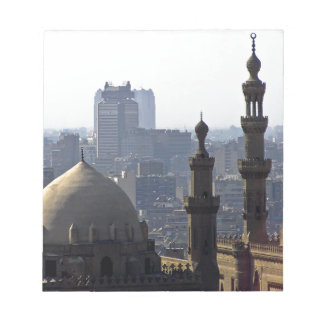Minarets view of Sultan Ali mosque Cairo Notepad