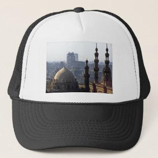 Minarets view of Sultan Ali mosque Cairo Trucker Hat