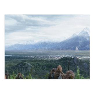 Minas Tirith in View Postcard