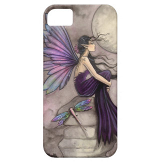Mind Adrift Fairy and Dragonfly Fantasy Art Barely There iPhone 5 Case