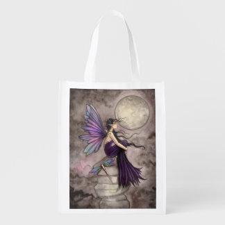 Mind Adrift Fairy Fantasy Art Reusable Grocery Bag