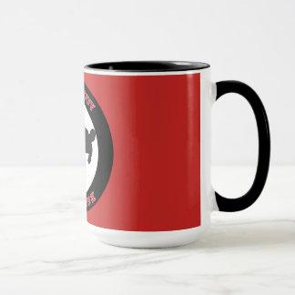 Mind Body Defense Mug Red