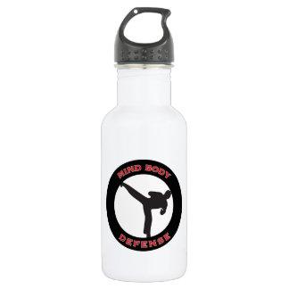 Mind Body Defense Water Bottle 18 oz 532 Ml Water Bottle