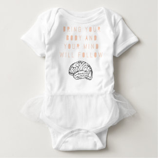 Mind Body Fellowship AA Meeting Recovery Baby Bodysuit