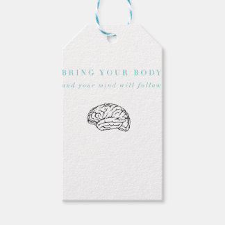 Mind Body Fellowship AA Meeting Recovery Gift Tags
