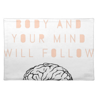 Mind Body Fellowship AA Meeting Recovery Placemat