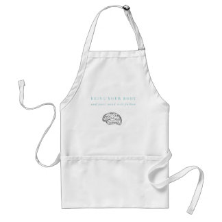 Mind Body Fellowship AA Meeting Recovery Standard Apron