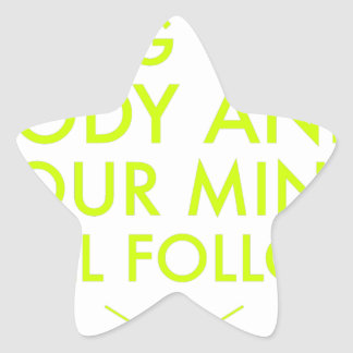 Mind Body Fellowship AA Meeting Recovery Star Sticker