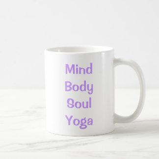 Mind Body Soul Yoga Mug