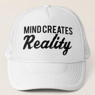 Mind Creates Reality Cap