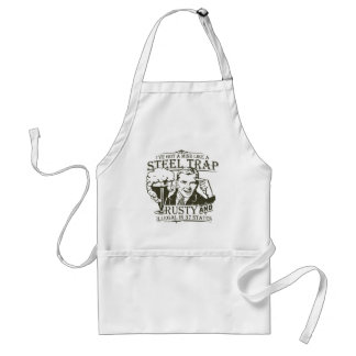 Mind like a Steel Trap Standard Apron