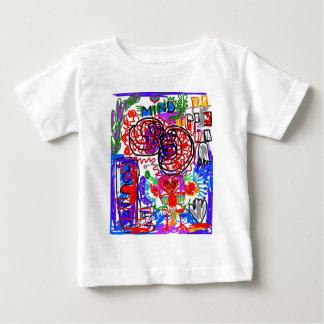 Mind  Matters Graffiti Baby T-Shirt