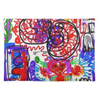 Mind  Matters Graffiti Placemat