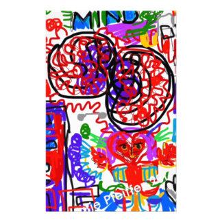 Mind  Matters Graffiti Stationery
