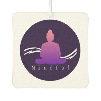 """""""Mindful"""" Beautiful Buddha. Car Air Freshener"""