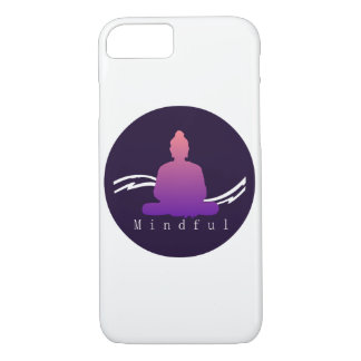 """Mindful"" Beautiful Buddha Iphone case. iPhone 8/7 Case"
