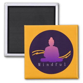 """""""Mindful"""" Beautiful Buddha. Magnet"""