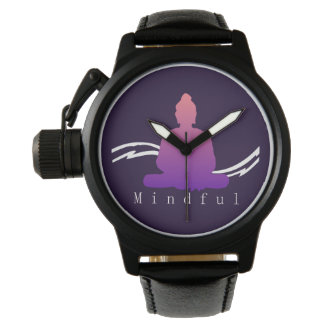 """Mindful"" Beautiful Buddha. Watch"