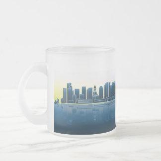 Mindful Boston Skyline Mug