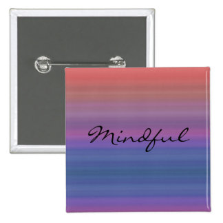 Mindful - Choose your own WORD for the year Buttons