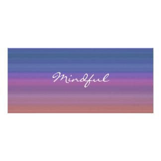 Mindful - Choose your own WORD for the year! Customized Rack Card