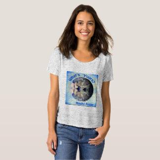 Mindful Pebble Planet Earth T-Shirt Grey