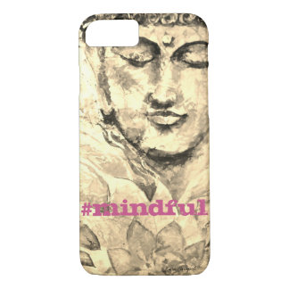 Mindful Zen Buddha Watercolor Art Phone Case