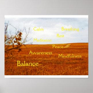 Mindfulness and Meditation poster V