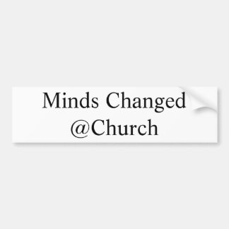 Minds Changed @Church sticker