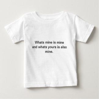 Mine Baby T-Shirt