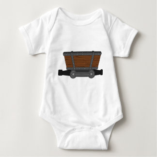 Mine Cart Baby Bodysuit