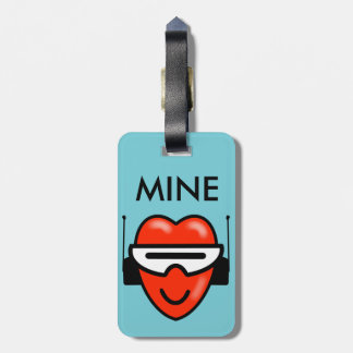 MINE HEART SPACE by Jetpackcorps Luggage Tag