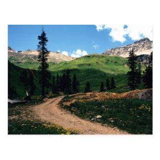Mine in Yankee Boy Basin, Colorado Postcard