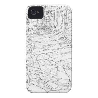 Mine interior iPhone 4 cover