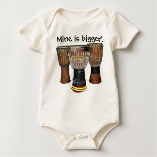 Mine is bigger (djembe drum)! T-Shirt