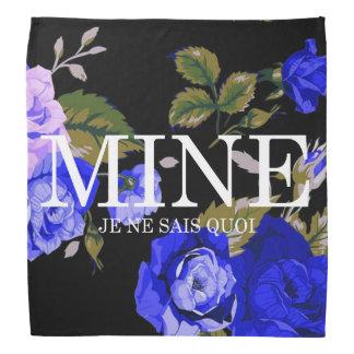 MINE - JE NE SAIS QUOI - Floral Print Logo Bandana