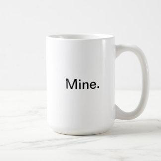 Mine. Classic White Coffee Mug