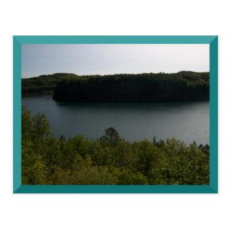 Mine Pit in Virginia, MN Postcard