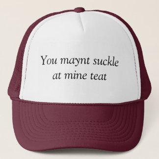 Mine teat trucker hat