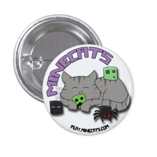 Minecats Sleeping Cat and Bugs button