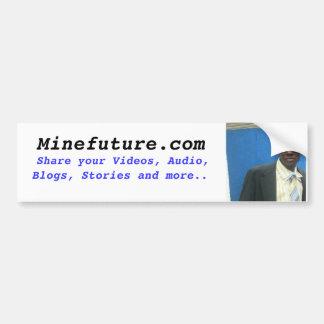 minefuture.com bumper sticker