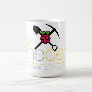Minepeon & Raspberry Pi Coffee Mug