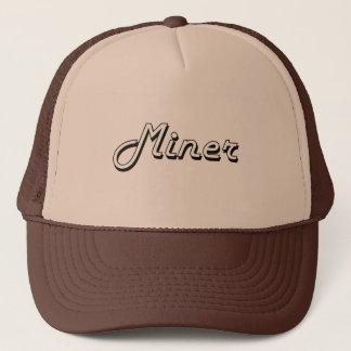 Miner Classic Job Design Trucker Hat